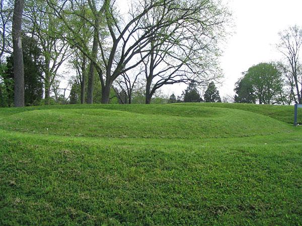 Serpent Mound, tail