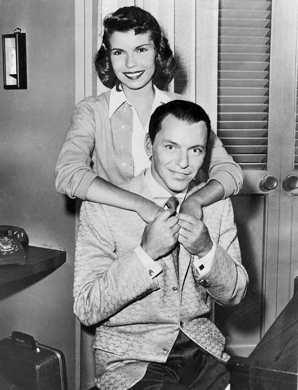 Frank and Nancy Sinatra, 1957