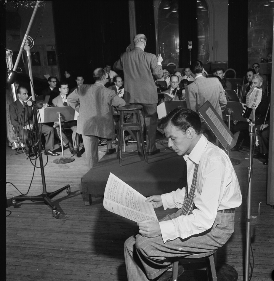Sinatra and Stordhal, 1947