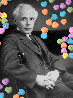 Béla Bartók: composing genius and love machine