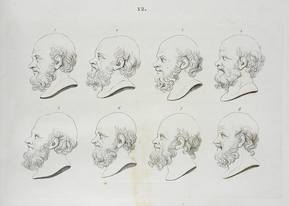 [Examples of heads of Socrates]