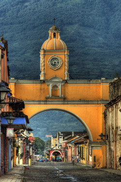 Part of the magic of Antigua, Guatemala