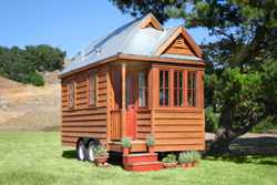 At 102 square feet, expansive by tiny house standards.