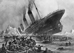 The Titanic lost 1,500 people; our columnist lost her CDs.