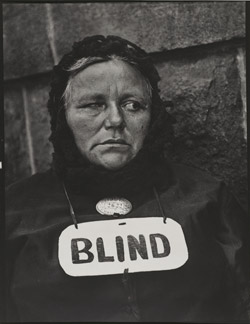 Blind (1916) by Paul Strand