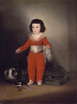 Manuel Osorio Manrique de Zuñiga, Francisco Goya (1787-88)