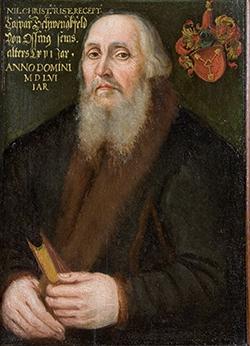 Caspar Schwenckfeld von Ossig (1556)