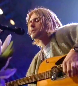 Cobain, unplugged.