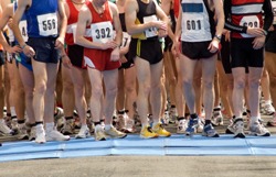 Expensive shoes, shorts, and watches are a necessity. Or at least other runners make you feel that way.