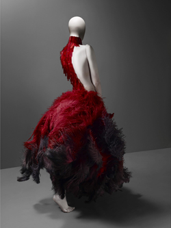 "A dress from the ""Voss"" series."