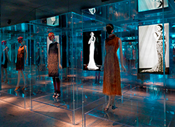 Fashion continues its climb in in the museum.