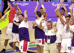 """Winning"" gold at the 2000 Paralympic Games"
