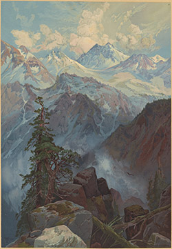 Summit of the Sierra Nevada by Thomas Moran