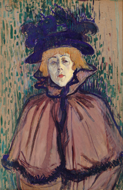 Toulouse-Lautrec at the Courtauld Gallery.