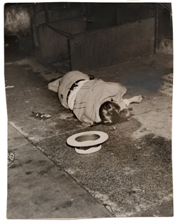 Body of Dominick Didato, Elizabeth Street, New York, August 7, 1936.