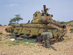 Somalia is dotted with rusted remains of its battles for independence.