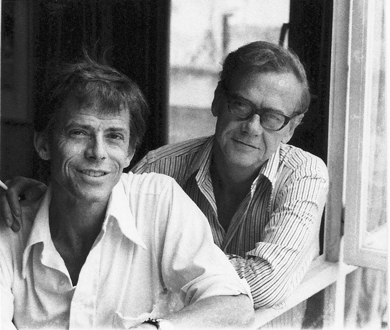 James Merrill and David Jackson,  1973