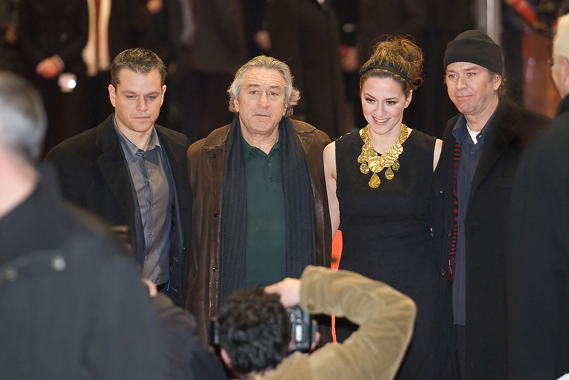 De Niro and joins the cast of The Good Shepard at the 57th Annual Berlinale International Film Festival in 2007. The film was De Niro's second attempt at directing.