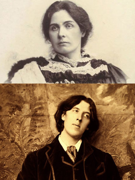 """Even her husband's bed partners — and there were always plenty of those  around — found mostly good things to say about Mrs. Oscar Wilde, or """"poor,  ..."""
