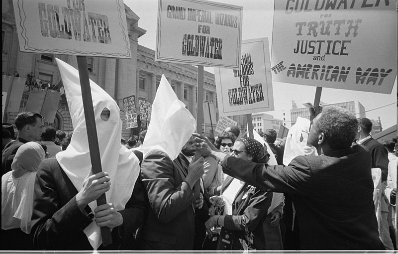 800px-Ku_Klux_Klan_with_Barry_Goldwater's_campaign_signs_03195u_original