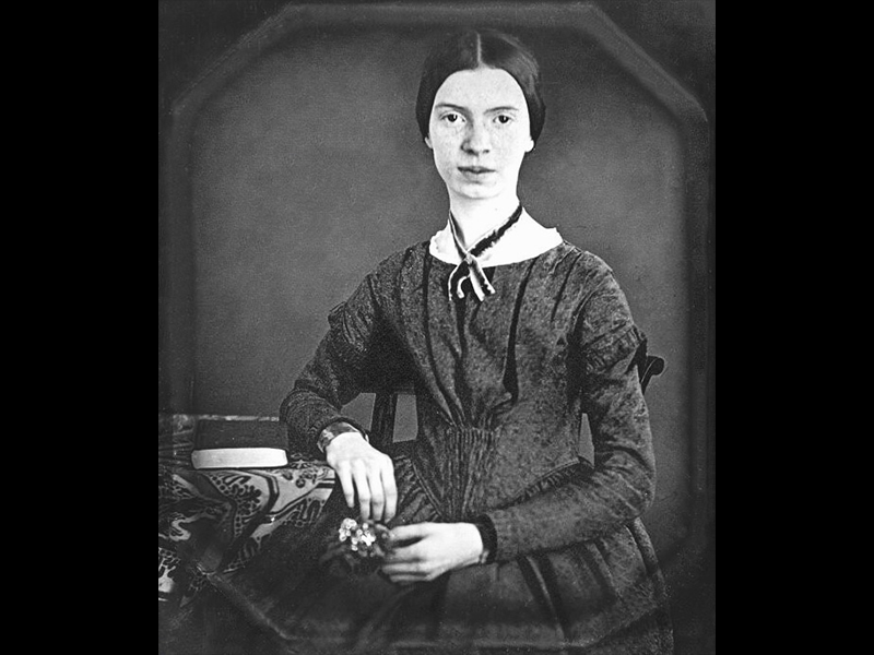 emily dickinson ap Emily elizabeth dickinson was an american poet born in amherst, massachusetts, to a successful family with strong community ties, she lived a mostly introverted and reclusive life after she studied at.