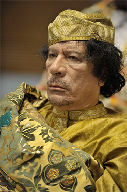Reading Qaddafi